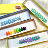 Shayna's Rainbow with Crystals Set