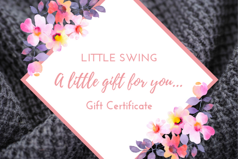 Little Swing's Gift Certificate