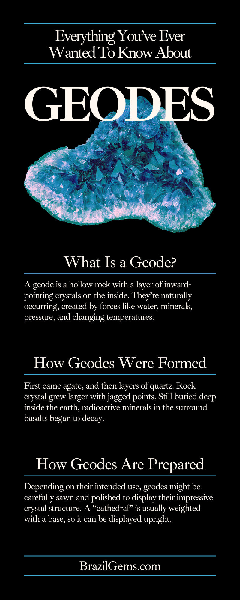 Everything You've Ever Wanted To Know About Geodes