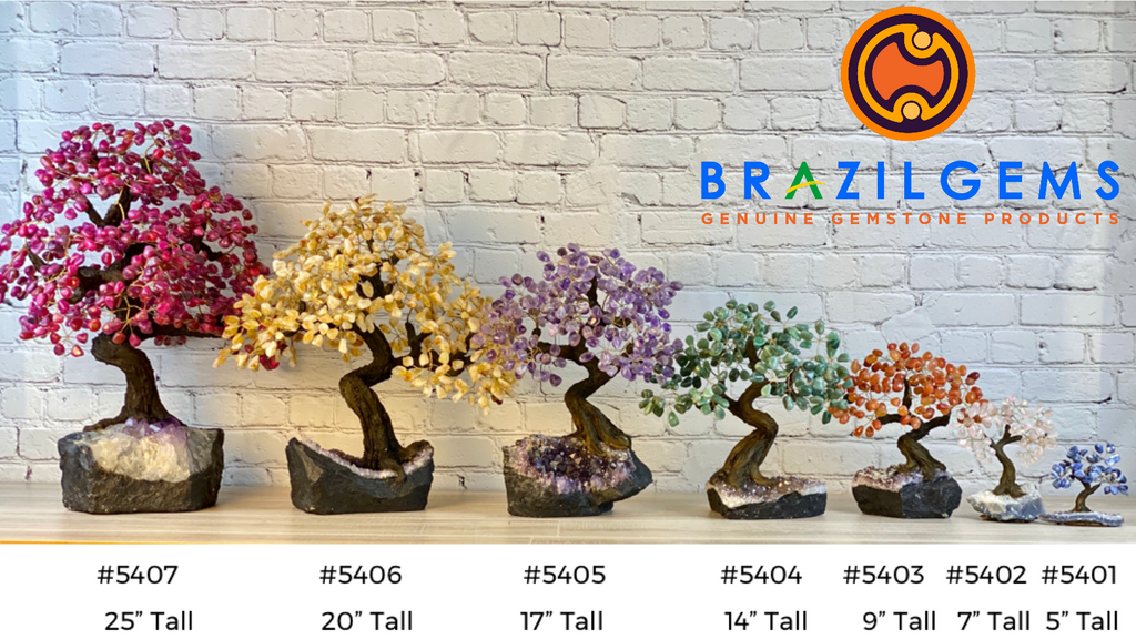 Gemstone Tree by brazilgems.com