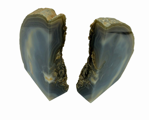 Natural Agate Bookend, Agate Products, Agate bookend, Bookend, Stone bookend