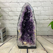 "Large Quality Amethyst Geode Cathedral, 21"" tall and 47 lbs heavy (5601-0009)"