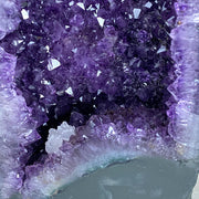 "Extra Quality Brazilian Amethyst Cathedral, 15.5"" tall & 30.3 lbs (5601-0031)"