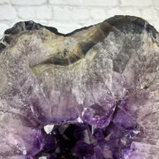 "Large Quality Large Brazilian Amethyst Cathedral, 22"" tall & 78 lbs (5601-0072)"