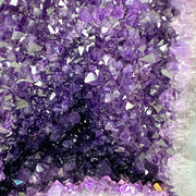 "Extra Quality Large Brazilian Amethyst Cathedral, 21.25"" tall & 78 lbs (5601-0041)"