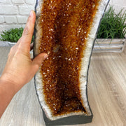 "Large Quality Citrine Cathedral, 25"" tall and 47.63 lbs weight (5603-0009) by Brazil Gems"