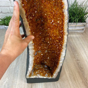 "Large Extra Quality Citrine Cathedral, 24.5"" tall and 50.67 lbs weight (5603-0010) by Brazil Gems"