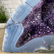 "Extra Quality Polished Brazilian Amethyst Cathedral, 13.5"" tall & 36 lbs (5601-0182) by Brazil Gems"