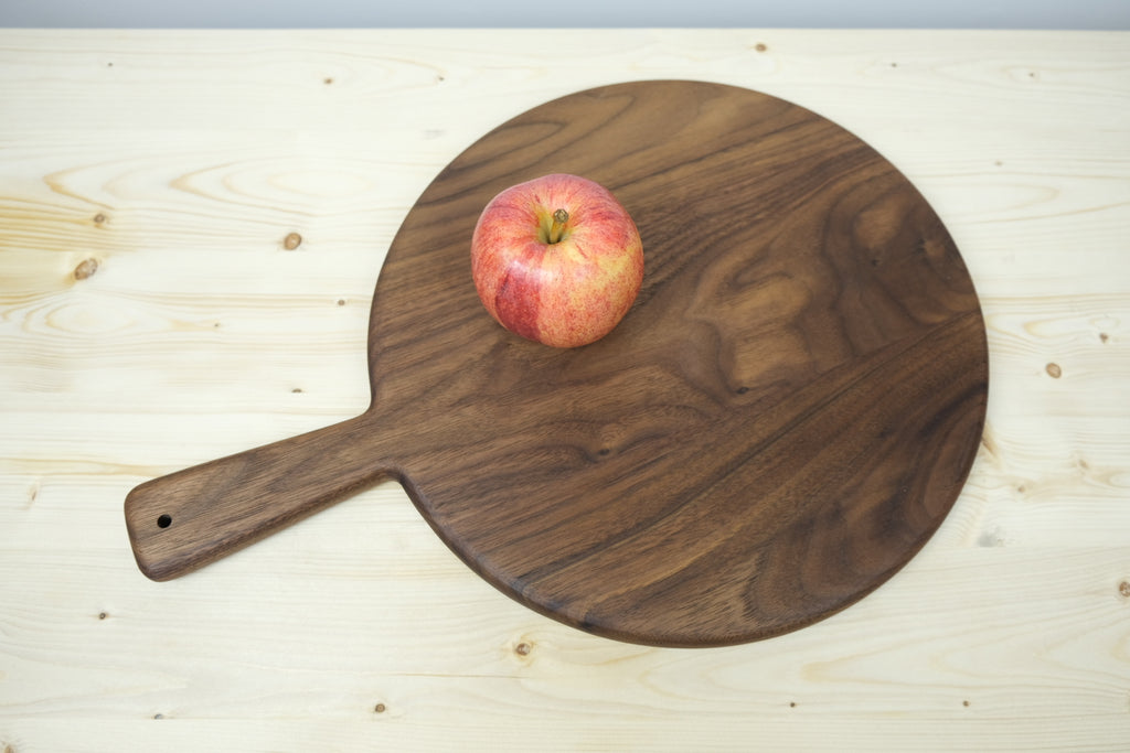 Round Serving Board with handle