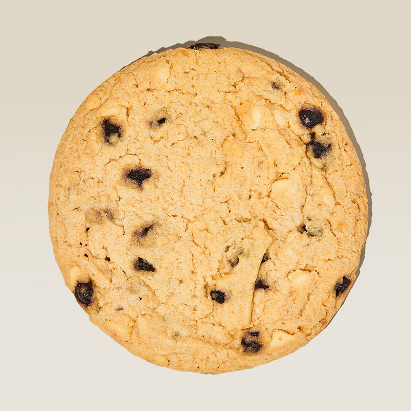 Blueberry & Cream Cookie Overhead