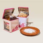 Milk Bar Pie with 2 Assorted Cookie Tins