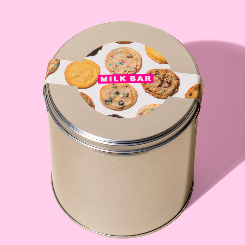 New Assorted Cookie Tin