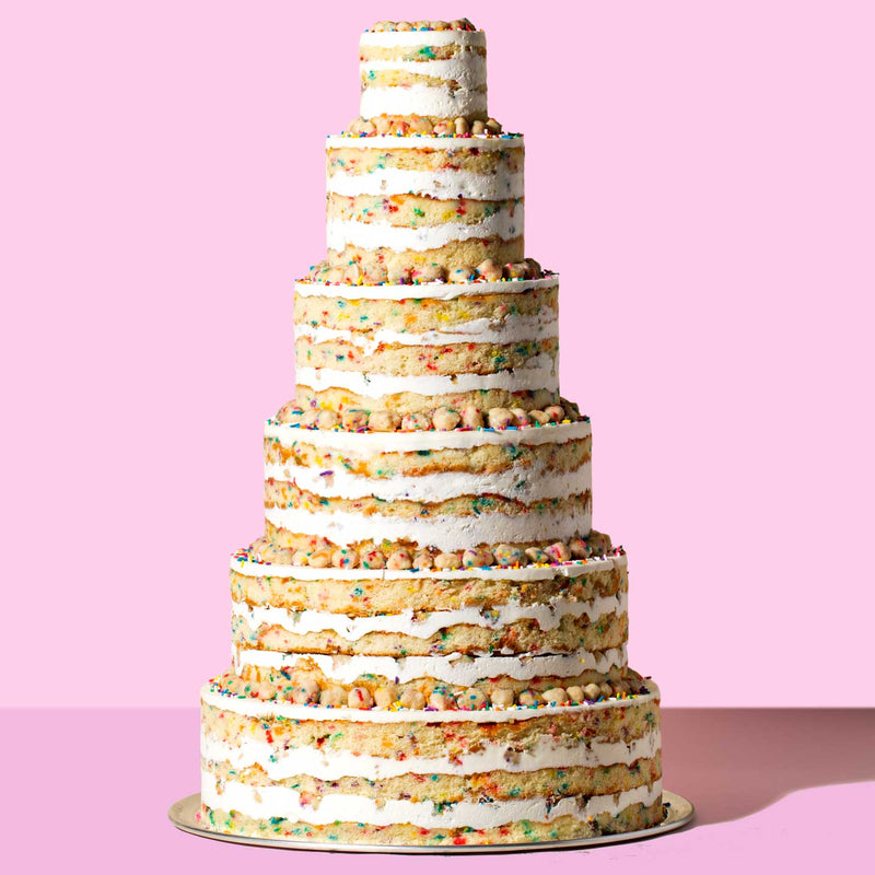 Milk Bar Tiered Wedding Cake
