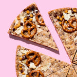 Compost Cookie Cake zoom on slice