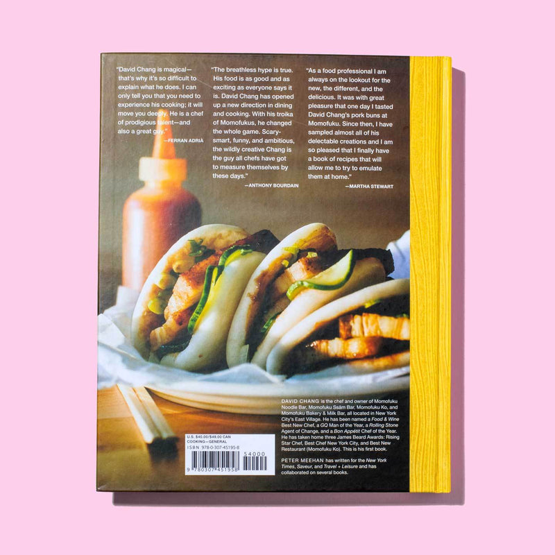 Momofuku Cookbook back