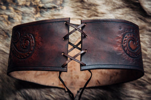 Maple Leaf Wide Belt
