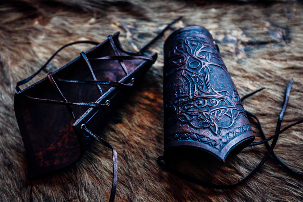 Arm Guard ~ Tree of Life Thor's Hammer