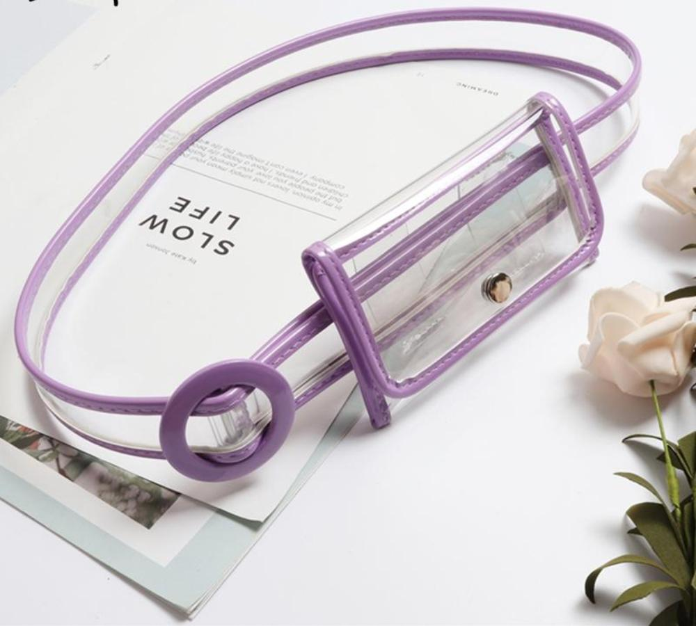 Brandi Transparent Belt and Bum Bag