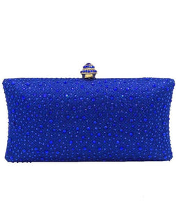 Faith Crystal Diamonte Embellished Clutch Bag
