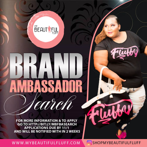 My Beautiful Fluff Brand Ambassador Search