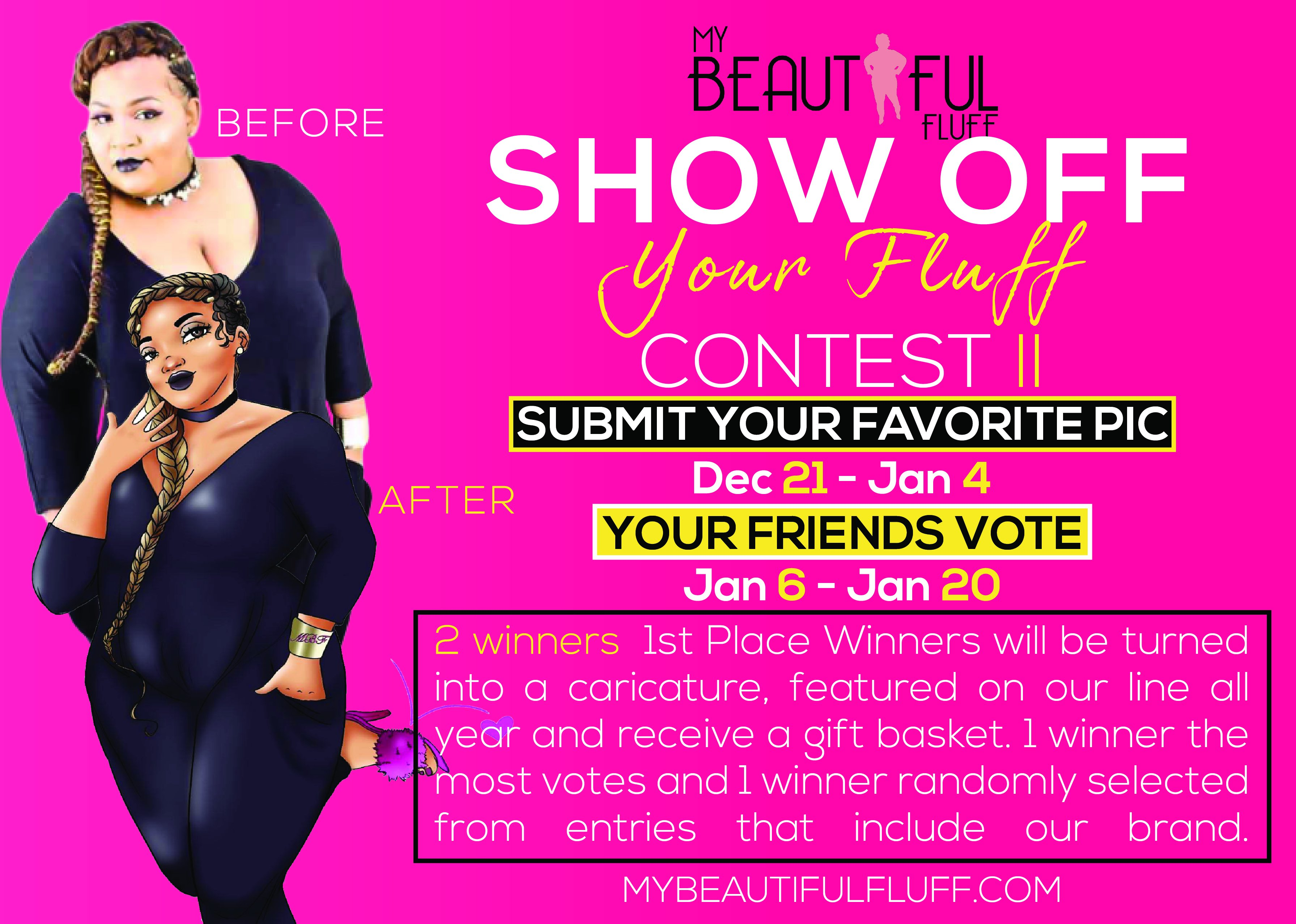 Show Off Your Fluff II- Cast your votes until 1/20/20