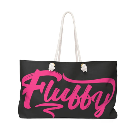 Fluffy Oversized Weekender Tote Bag Bags Printify 24x13