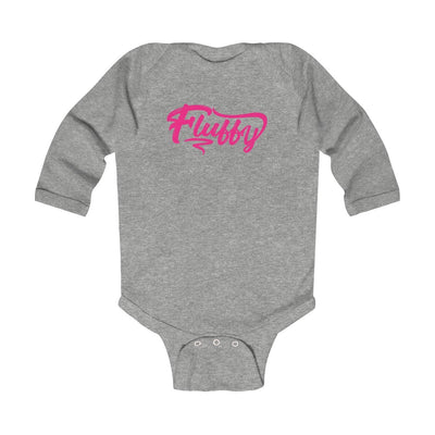 Infant Long Sleeve Bodysuit Kids clothes Printify Heather NB