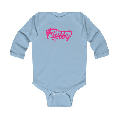 Infant Long Sleeve Bodysuit Kids clothes Printify Light Blue 6M