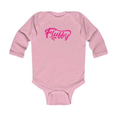 Infant Long Sleeve Bodysuit Kids clothes Printify Pink 6M