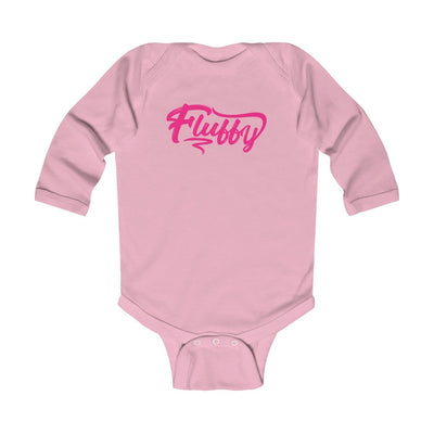 Infant Long Sleeve Bodysuit Kids clothes Printify Pink NB