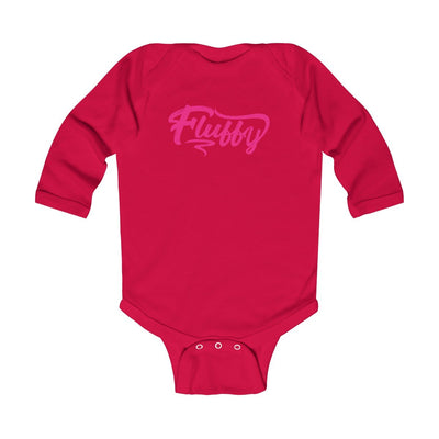 Infant Long Sleeve Bodysuit Kids clothes Printify Red NB