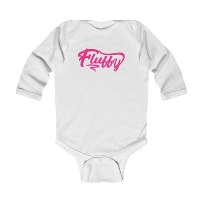 Infant Long Sleeve Bodysuit Kids clothes Printify White 18M