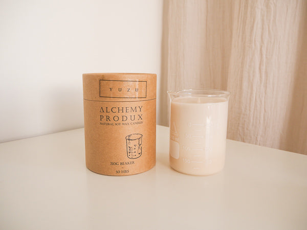 Luxe Beaker Candle - Alchemy Produx