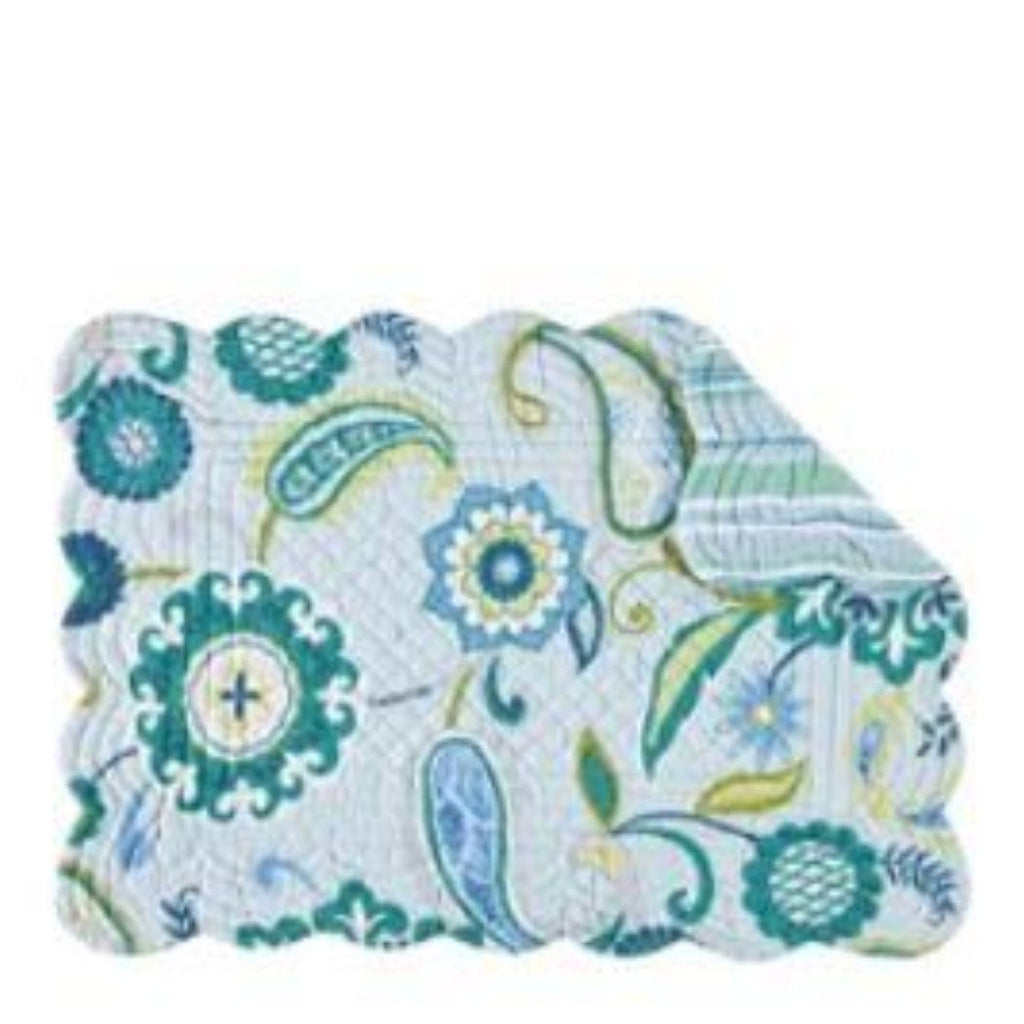Alena Quilted Cotton Placemat