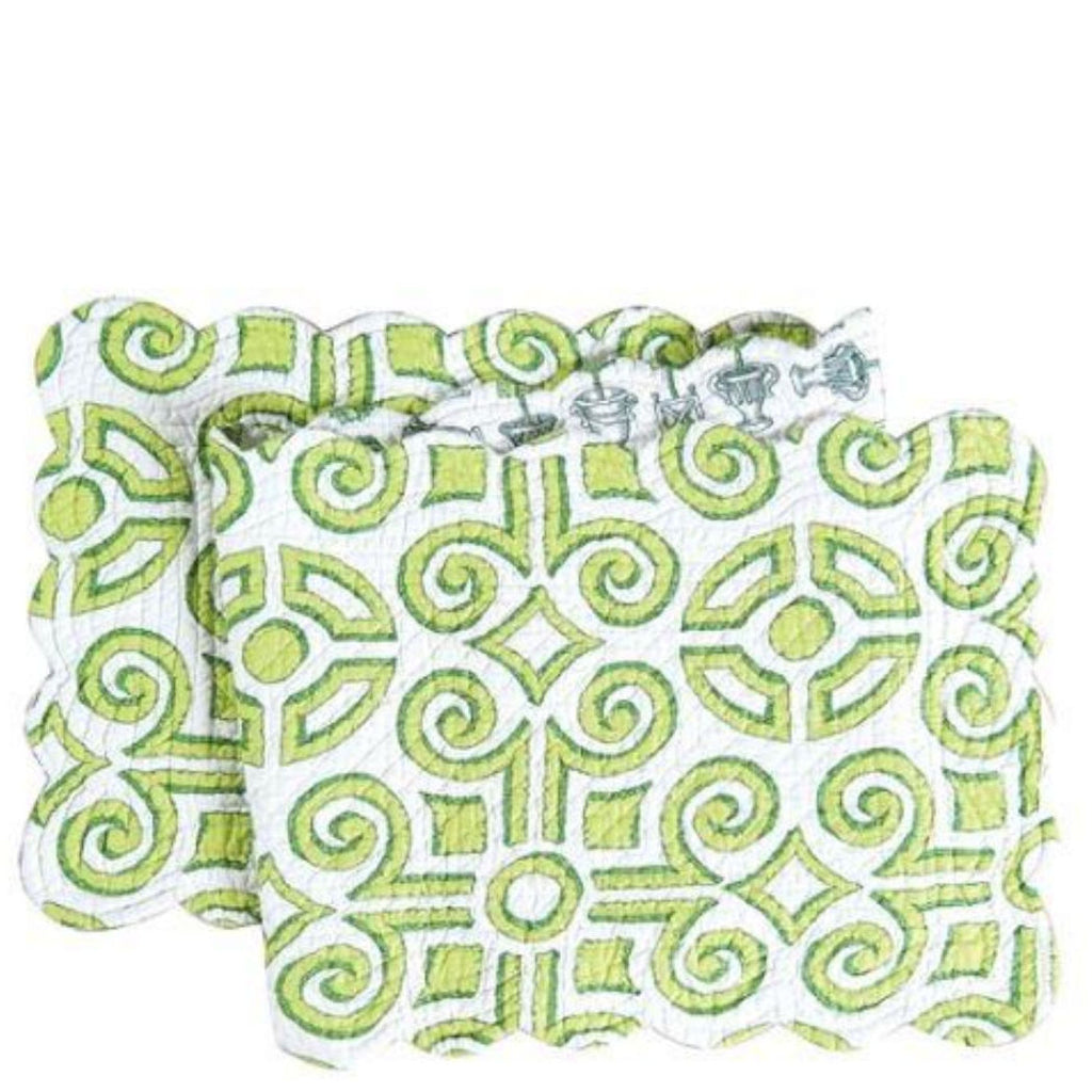 Boxwood Abbey Table Runner