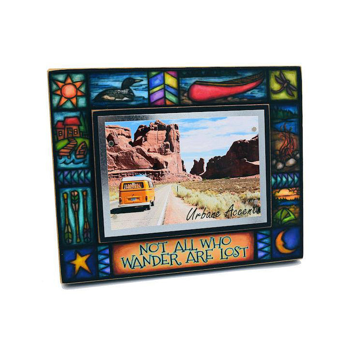 "Macone Clay ""Not All That Wander"" Frame"