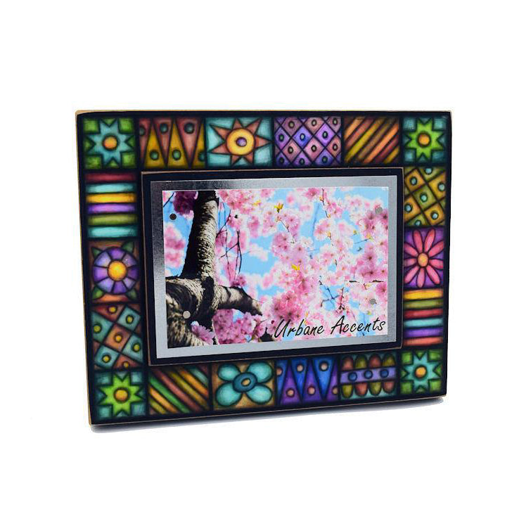 Macone Clay Pastel Floral Frame