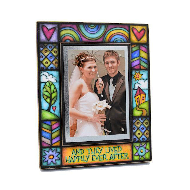 Macone Clay Wedding Frame