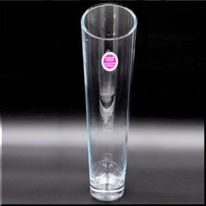 Clear Glass Vase Tall