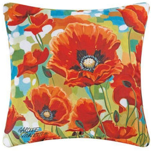 Poppy Field Pillow