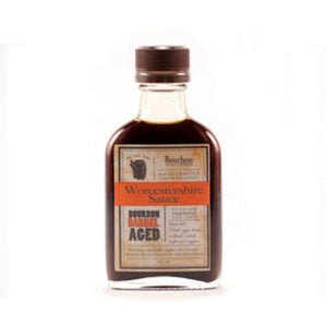 Bourbon Barrel Aged Worcestershire Sauce 100ml Flask - Bourbon Barrel Foods