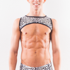 Snow Leopard - Fabric Harness - SokoWear