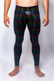 Rainbow Matrix - Men's Leggings - SokoWear
