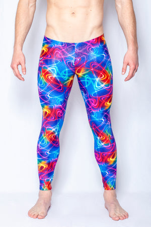 Saturn's Rings - Men's Leggings - SokoWear
