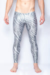 Twinkle Zebra - Men's Leggings - SokoWear