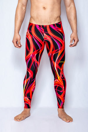 Firestorm - Men's Leggings