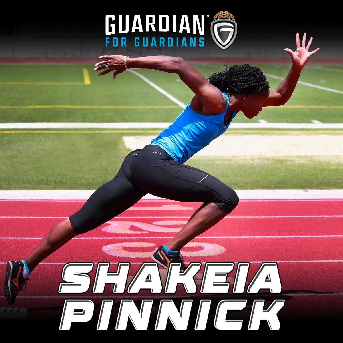 Guardian Athlete - Shakeia Pinnick