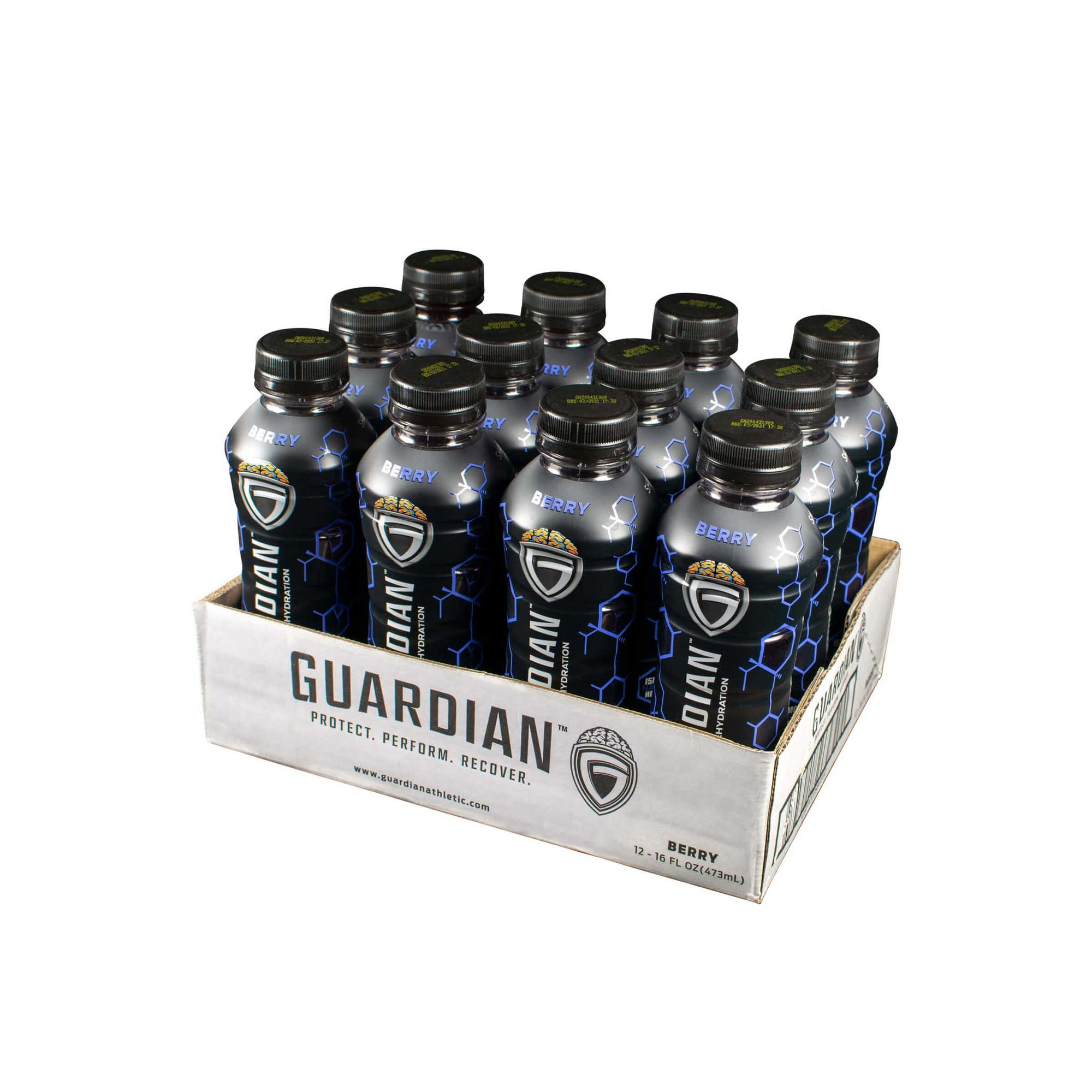12 Pack of Guardian Athletic Rehydration Berry