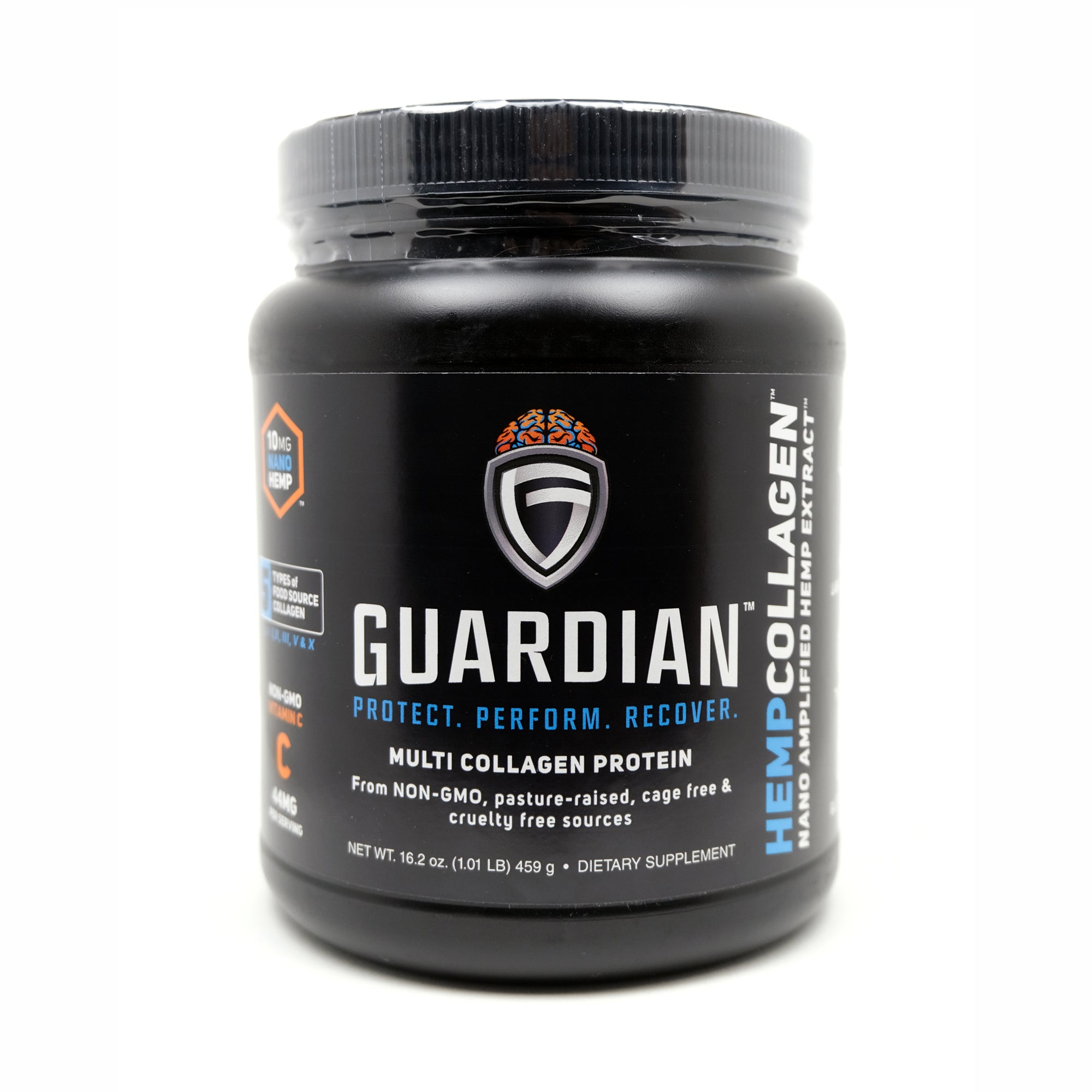 Guardian HempCollagen Protein Powder Front