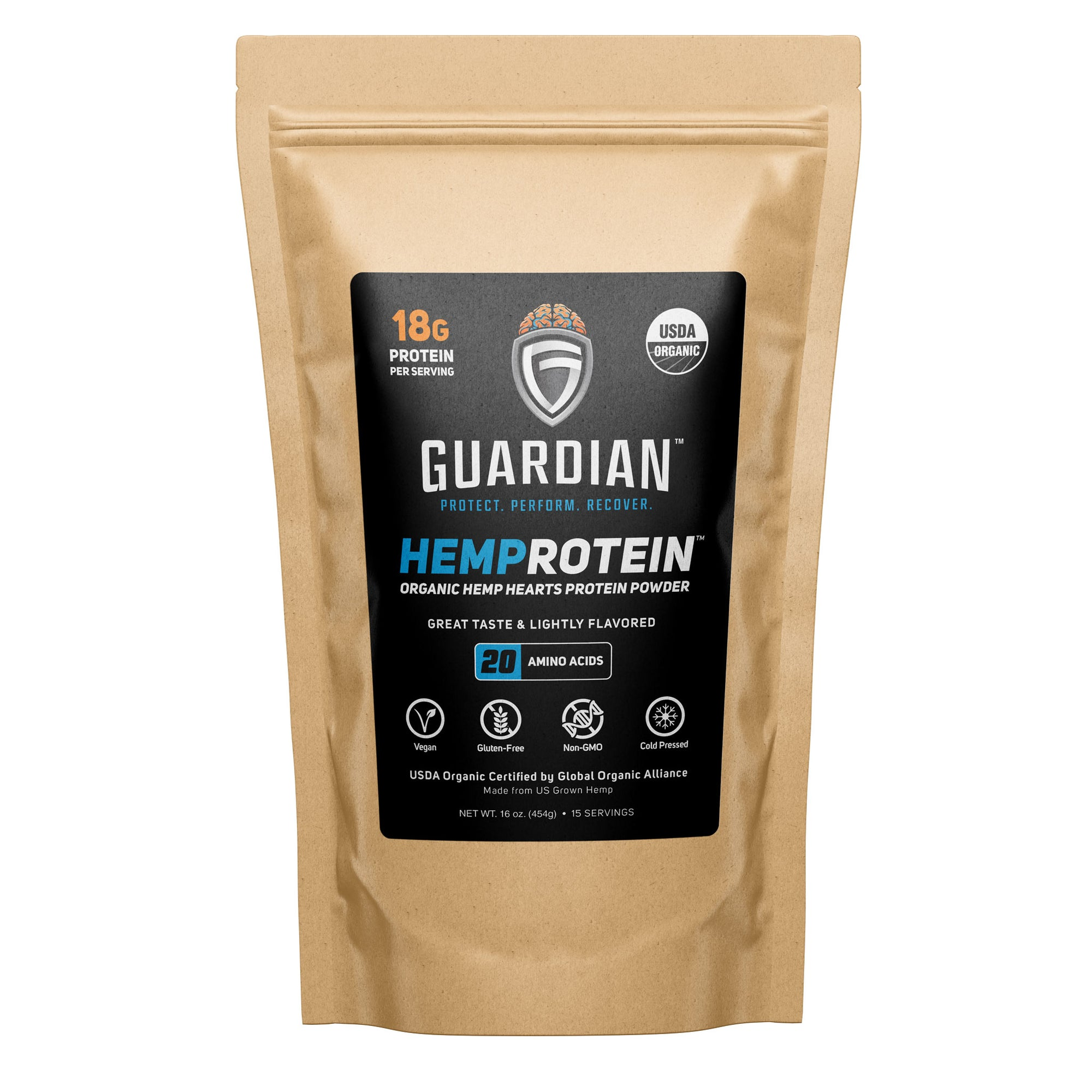 Guardian Hemprotein Powder Front